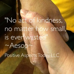 no act of kindness( hands held)