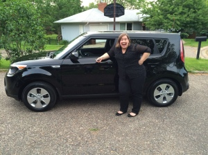 Brittany's First New Car!