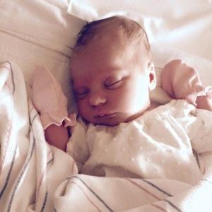 Olive Magnolia newborn