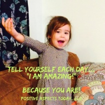 tell yourself you are amazing photo